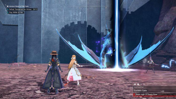 Sword Art Online Alicization Lycoris Thundertail The Vicious Divine Beast Monolith Eastern Gate Great Mound Road 5c