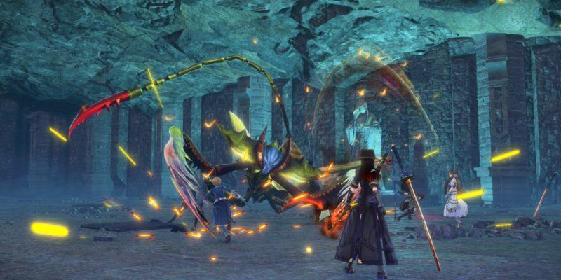 Sword Art Online Alicization Lycoris Waredge The Virtuous Divine Beast Guide Monolith Sivilia Mountains