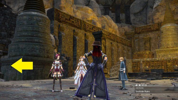 Sword Art Online Alicization Lycoris Waredge The Virtuous Divine Beast Guide Monolith Sivilia Mountains 1a