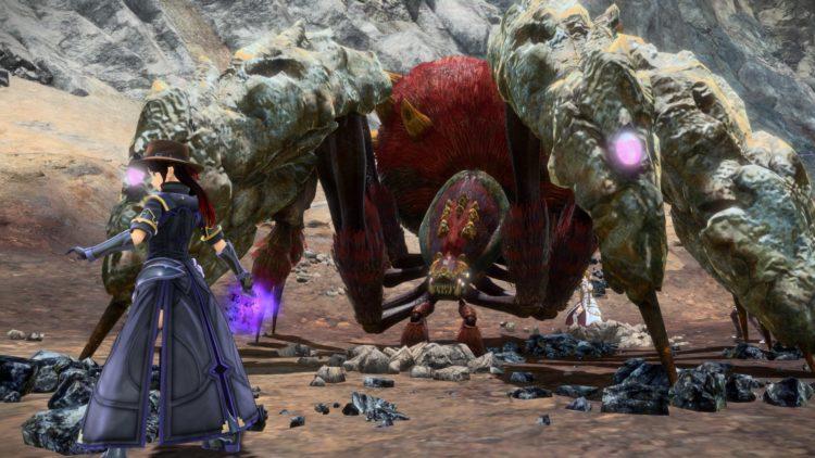 Sword Art Online Alicization Lycoris Waredge The Virtuous Divine Beast Guide Monolith Sivilia Mountains 2c