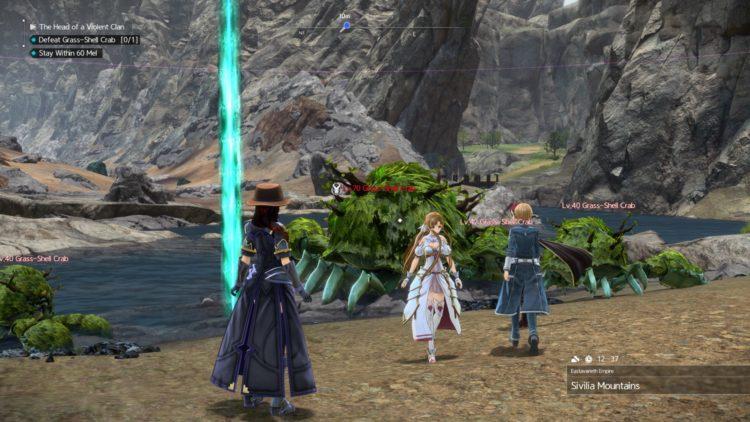 Sword Art Online Alicization Lycoris Waredge The Virtuous Divine Beast Guide Monolith Sivilia Mountains 4a