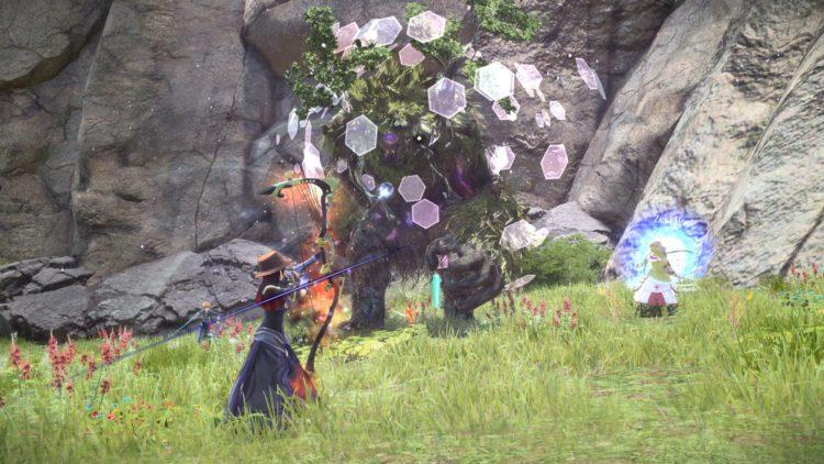 Sword Art Online Alicization Lycoris Waredge The Virtuous Divine Beast Guide Monolith Sivilia Mountains 5a