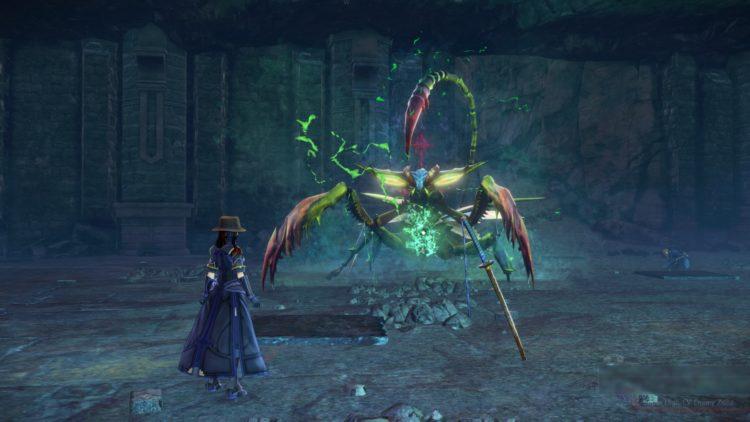 Sword Art Online Alicization Lycoris Waredge The Virtuous Divine Beast Guide Monolith Sivilia Mountains Boss 2