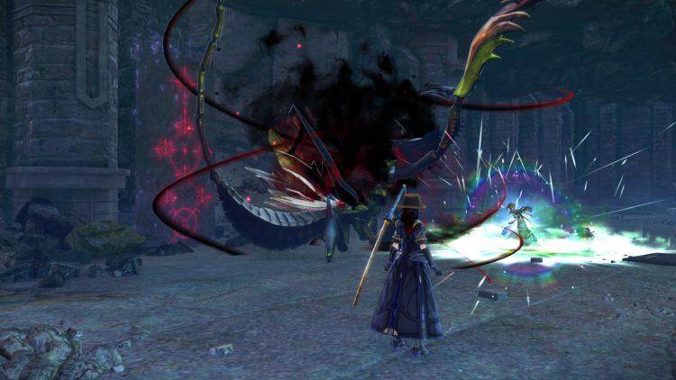Sword Art Online Alicization Lycoris Waredge The Virtuous Divine Beast Guide Monolith Sivilia Mountains Boss 4