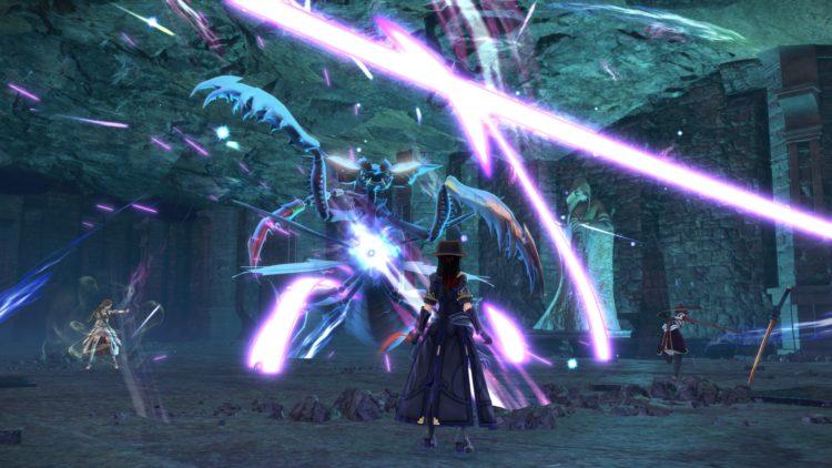 Sword Art Online Alicization Lycoris Waredge The Virtuous Divine Beast Guide Monolith Sivilia Mountains Boss 5