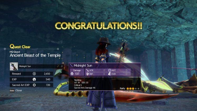 Sword Art Online Alicization Lycoris Waredge The Virtuous Divine Beast Guide Monolith Sivilia Mountains Boss 6