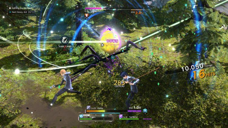 Sword Art Online Alicization Lycoris Combat Guide Skill Connect Sword Skills Chain Burst Hazard 1