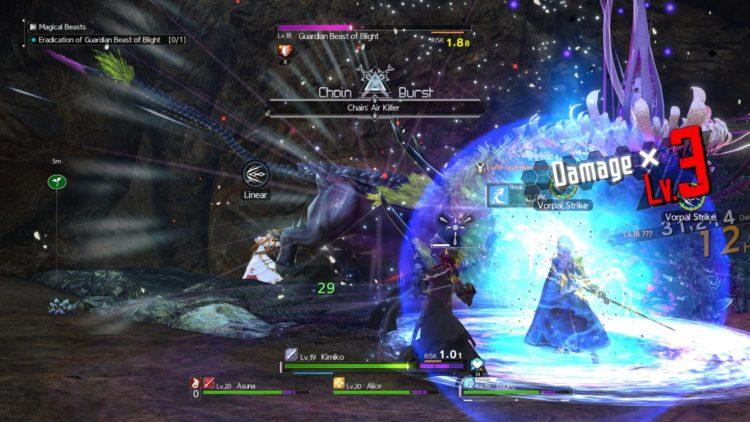 Sword Art Online Alicization Lycoris Combat Guide Skill Connect Sword Skills Chain Burst Hazard 2