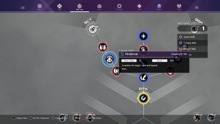 Sword Art Online Alicization Lycoris Combat Guide Skill Connect Sword Skills Chain Burst Hazard 7