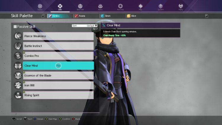 Sword Art Online Alicization Lycoris Combat Guide Skill Connect Sword Skills Chain Burst Hazard 8