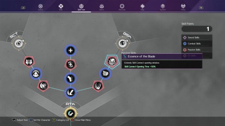 Sword Art Online Alicization Lycoris Combat Guide Skill Connect Sword Skills Chain Burst Hazard Eob