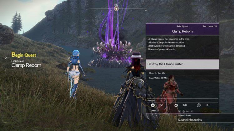 Sword Art Online Alicization Lycoris Increase Weapon Proficiency Clamp Clusters 2