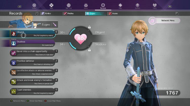 Sword Art Online Alicization Lycoris Levelng Guide Get More Exp Experience Points Xp 3