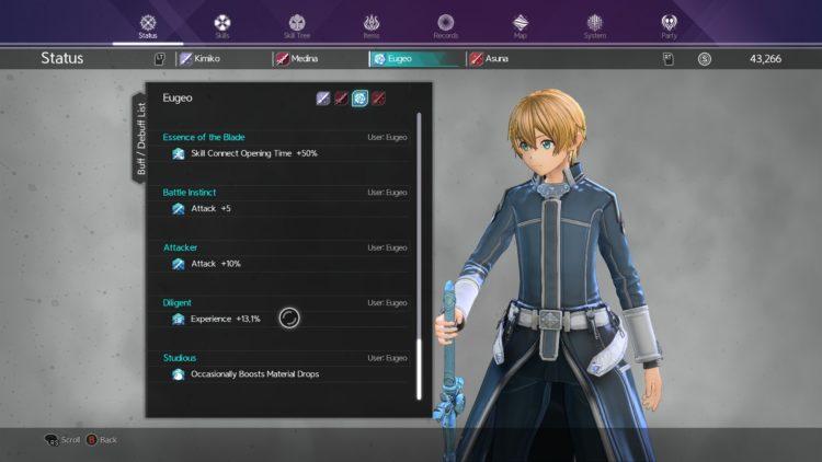 Sword Art Online Alicization Lycoris Levelng Guide Get More Exp Experience Points Xp 4