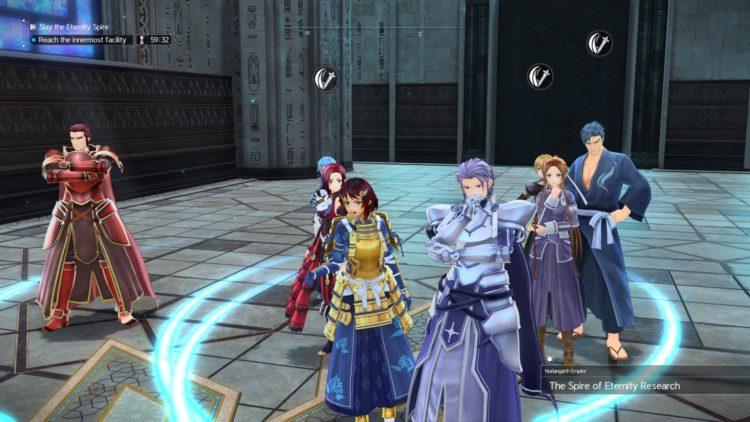Sword Art Online Alicization Lycoris Raid Dungeons Guide Patch 1.03 1b
