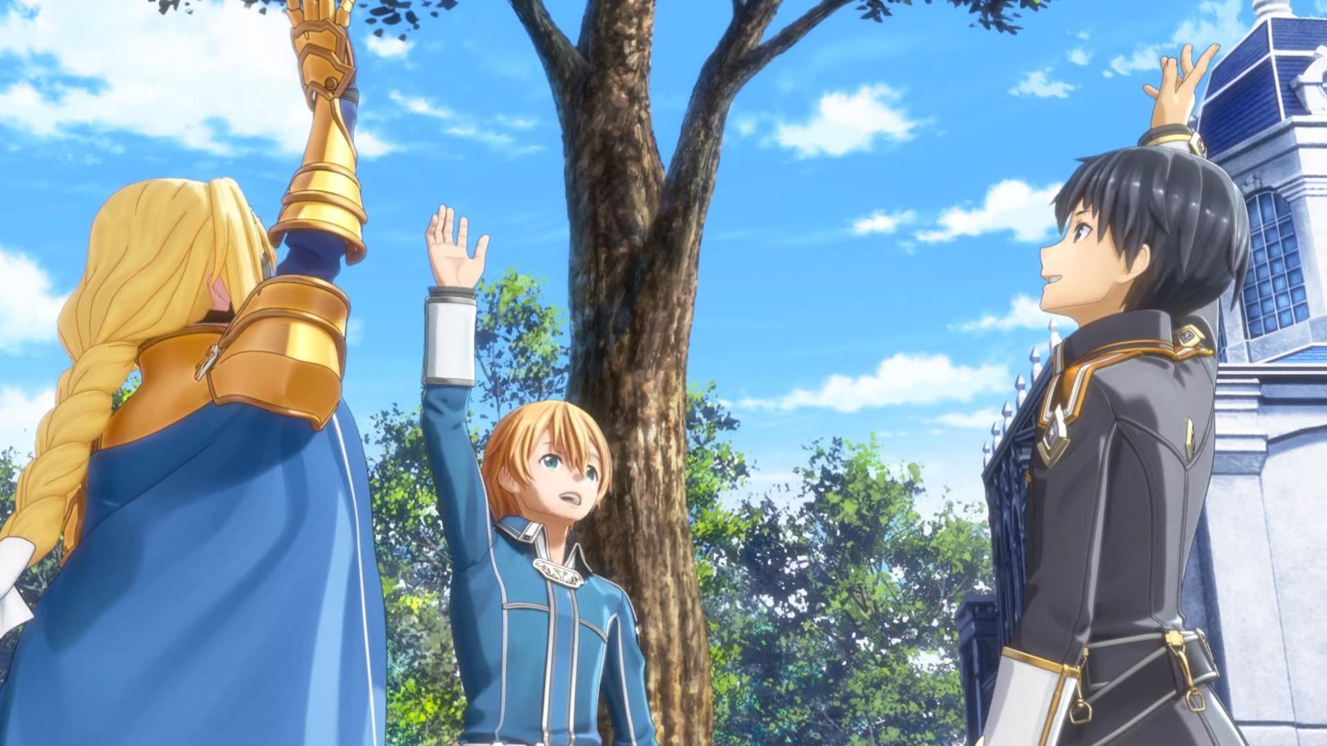 Sword Art Online Alicization Lycoris All Recruitable Characters