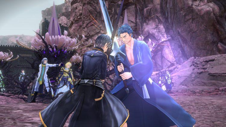 Sword Art Online Alicization Lycoris Recruit Integrity Knights Recruit Characters Bercouli 4