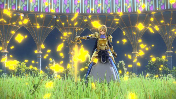 Sword Art Online Alicization Lycoris Recruit Integrity Knights Recruit Characters Bercouli Start