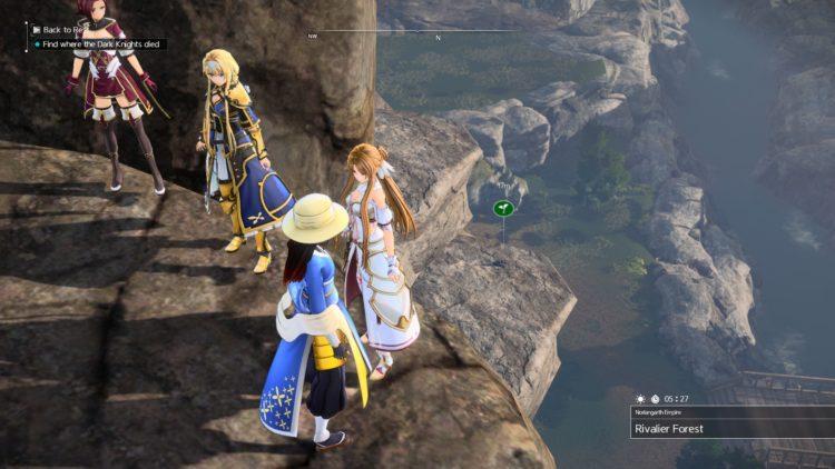 Sword Art Online Alicization Lycoris Unlock Character Classes Scout Berserker Healer Tank Debuffer 2