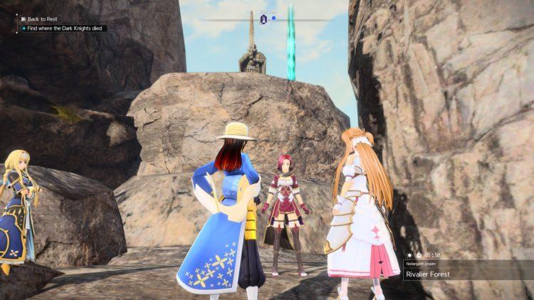 Sword Art Online Alicization Lycoris Unlock Character Classes Scout Berserker Healer Tank Debuffer 4