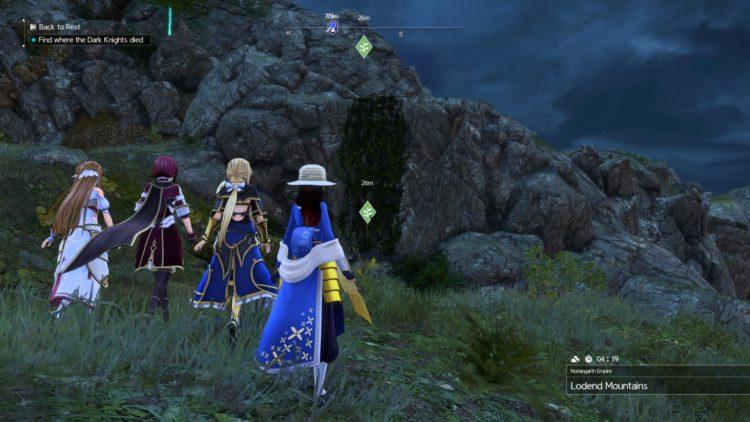 Sword Art Online Alicization Lycoris Unlock Character Classes Scout Berserker Healer Tank Heal 3