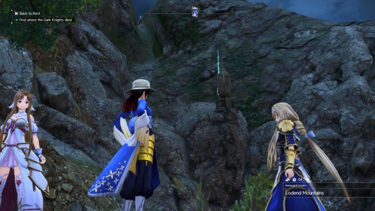 Sword Art Online Alicization Lycoris Unlock Character Classes Scout Berserker Healer Tank Heal 4