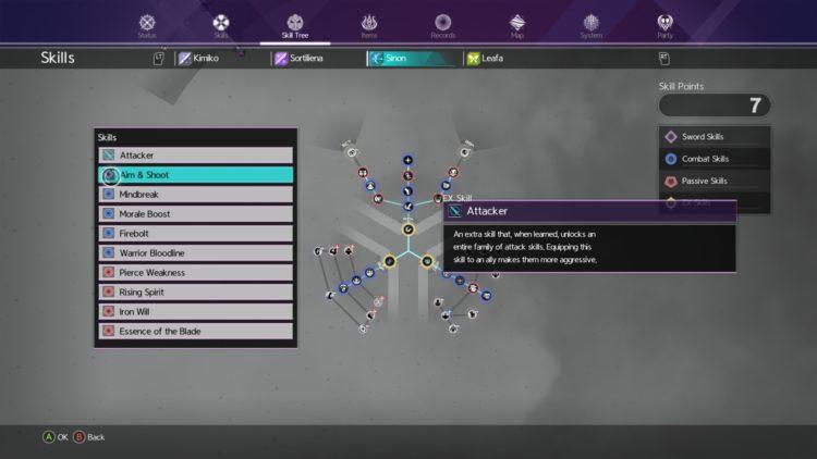 Sword Art Online Alicization Lycoris Unlock Sword Skills Weapon Skills Skill Tree 5