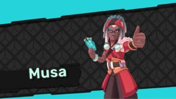 Temtem Vumbi Dojo Master Musa