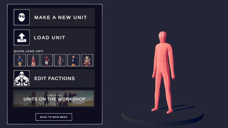 Totally Accurate Battle Simulator Unit Creator