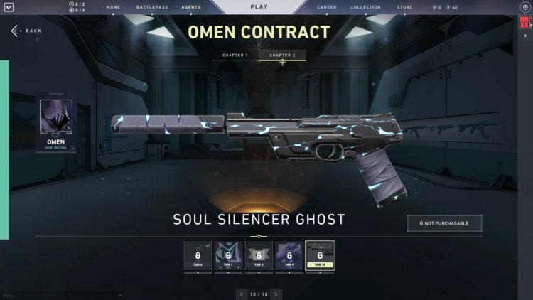 Valorant Omen Soul Silencer