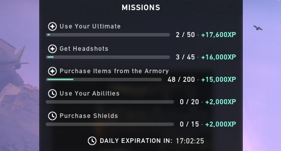 Valorant Missions