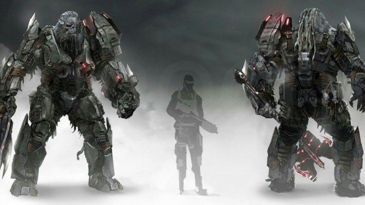 Atriox Model Halo infinite art