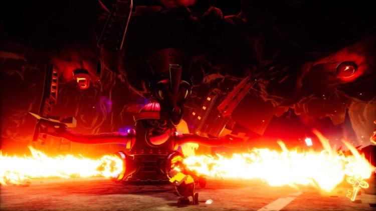 Balan Wonderworld Boss Fire Dragon