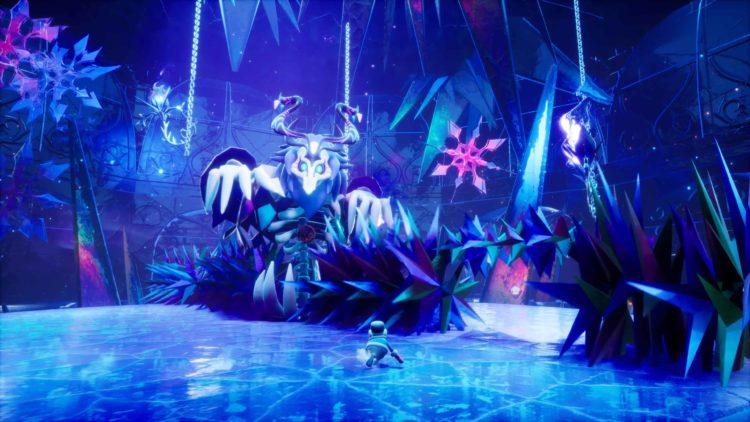 Balan Wonderworld trailer Boss Ice Dragon