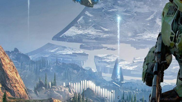 Halo Infinite Wallpaper Ring Damage