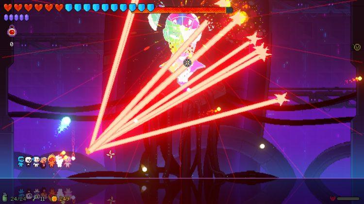 Neon Abyss Boss