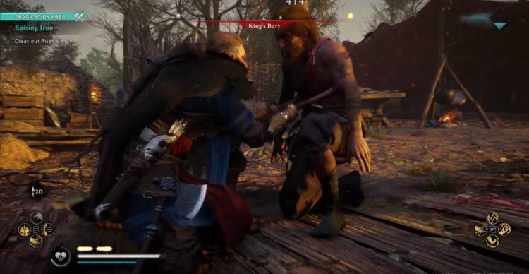 Valhalla Combat Finisher