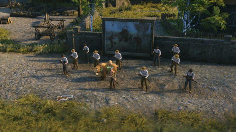 Iron Harvest обзор вооруженных жителей деревни