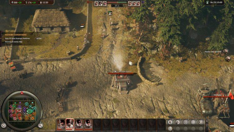 Обзор Iron Harvest вооруженные бункеры