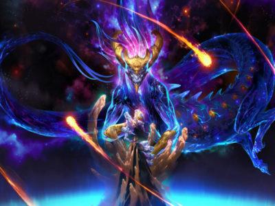 Legends of Runeterra champion Aurelion Sol