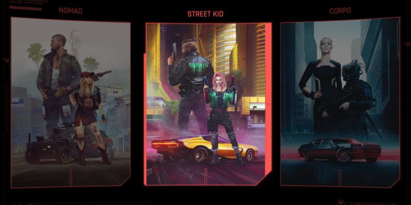 Cyberpunk 2077 Lifepaths character progression trailer