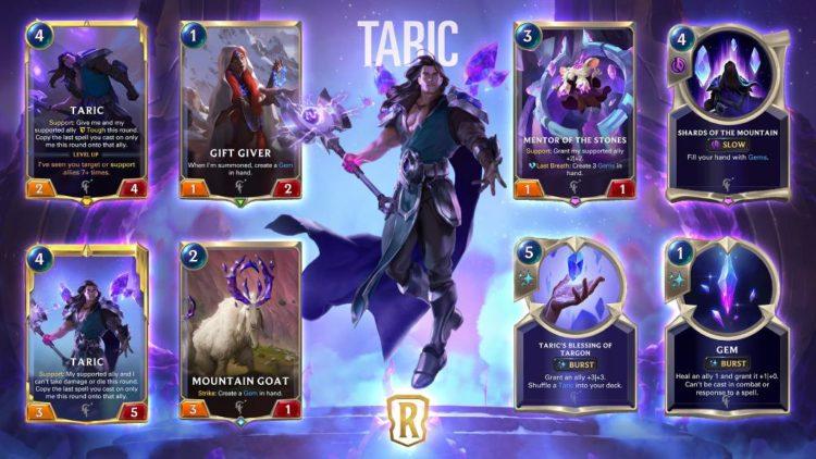 Legends of Runeterra gem and fae previews