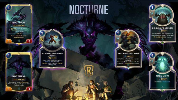Legends of Runeterra Nocturne reveal