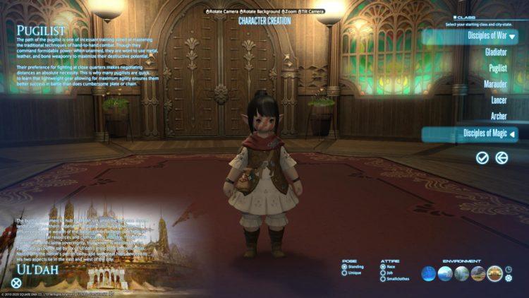 Final Fantasy Xiv Class