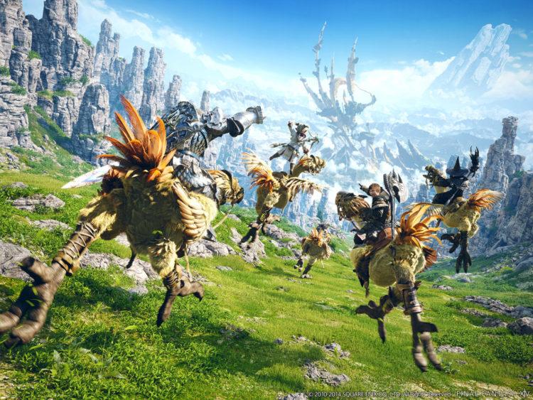 Рендеринг Final Fantasy Xiv