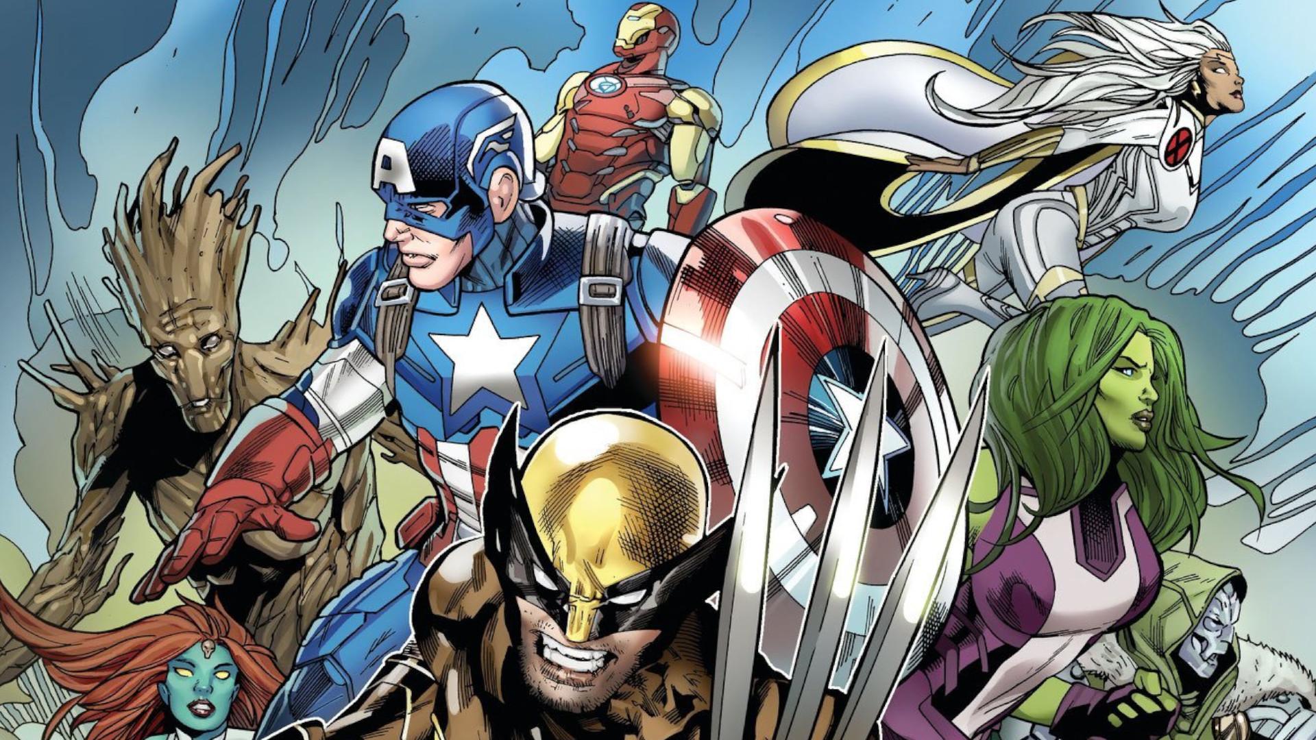 Fortnite Season 4 Teases Herald A Marvel Invasion Of Superheroes