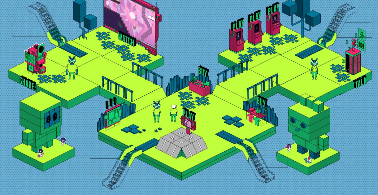 Gamescom Indie Arena Booth Online