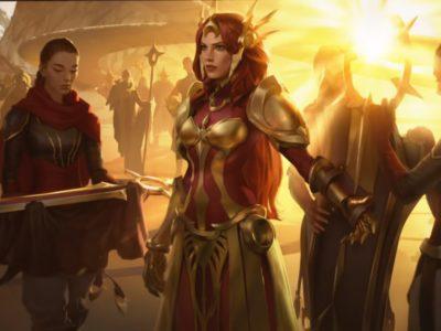 Legends of Runeterra champion Leona