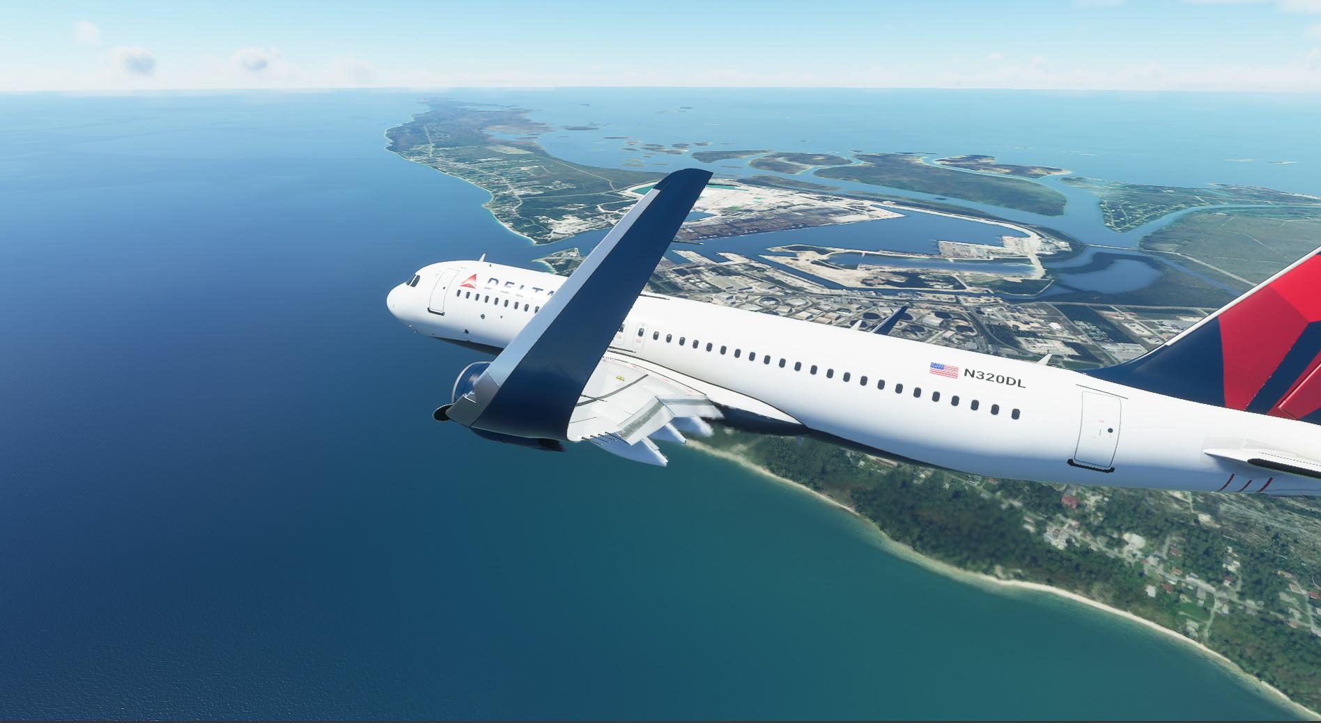 Microsoft Flight Simulator Airbus A320 Neo Delta