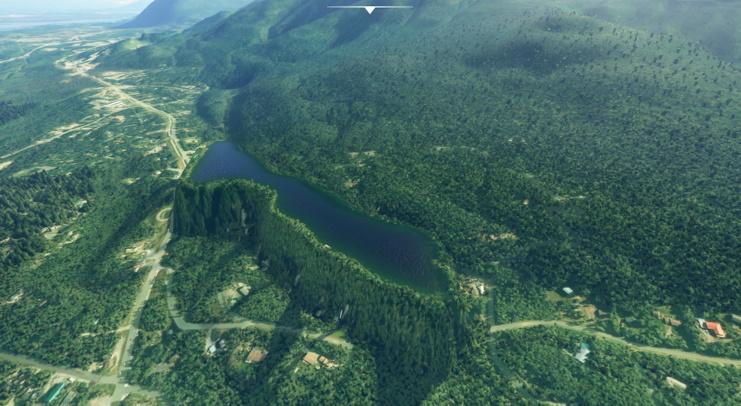 Microsoft Flight Simulator Anchorage Water Fix